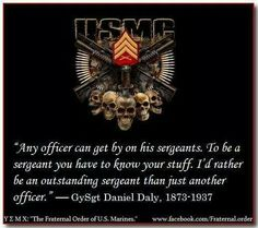 USMC (true enough, unless he or she is a Warrant Officer! Once A Marine, Navy Marine, Us Marine Corps, Marine Life, Mcrd San Diego, The Few The Proud, Warrant Officer, Military Quotes, Band Of Brothers