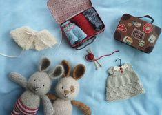 Suitcasetravels little cotton rabbits