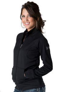 Under Armour® Women's Black Craze Full Zip Long Sleeve Jacket | Cavender's