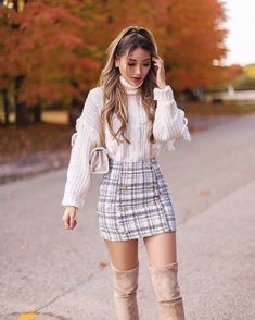 Cute Skirt Outfits, Girly Outfits, Cute Casual Outfits, Pretty Outfits, Stylish Outfits, Casual Dresses, Classy Outfits For Women, Rock Outfits, Teenager Outfits