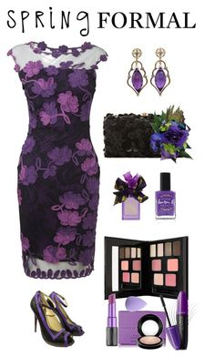 """""""Spring Formal"""" by saifai ❤ liked on Polyvore featuring Vera Wang, Phase Eight, Alexander McQueen, Deux Lux, Farrow & Ball, Lauren B. Beauty, Kevyn Aucoin, Urban Decay, Chantecaille and Revlon"""