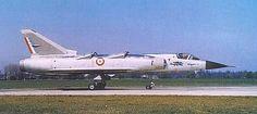 Aviones Caza y de Ataque: Dassault Mirage IIIV              Tripulación: 1 Longitud: 16,30 m (53 pies con 6 pulgadas) Envergadura: 8,80 m (28 pies con 10 pulgadas) Peso en vacío: 6.750 kg (14.880 libras) Planta motriz: 1 × SNECMA TF106 turboventilador de 74,5kN de empuje, 8 × Rolls-Royce RB162-81 F 08 turborreactores de ascenso vertical de 15,7 kN de empuje cada uno.