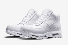 Here's one pair of kicks you're going to want to keep on ice – literally! Part of Nike's ACG line-up, this new colourway of the Air Max Goadome is made for one 'condition' only andthat's…