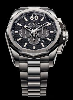 Corum Admiral's Cup AC-ONE Chronograph watch - Presentwatch.com #luxurywatch #Corum-swiss Corum Swiss Watchmakers watches #horlogerie @calibrelondon