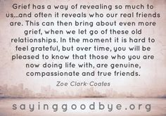#loss #grief #friend