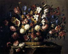 pintura de Juan de Arellano, pintor barroco