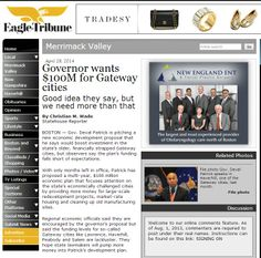 Governor wants $100M for Gateway cities