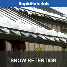 38 Best Snow Retention For Metal Roofs Images Metal Roof