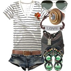 Perfect summer outfit... Can't wait till its warm