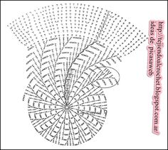 More than patterns, diagrams to crochet Crochet Summer Hats, Crochet Diy, Crochet Chart, Crochet Home, Crochet Motif, Crochet Doilies, Crochet Fabric, Crochet Dress Girl, Baby Girl Crochet