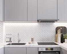 Home Design Decor, House Design, Interior Design, Home Decor, Small Condo Living, Condo Interior, Compact House, Kitchen Room Design, Interior Architecture