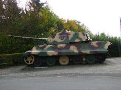 german Royal Tiger Tank ww2
