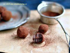 Čokoládové lanýže (tři druhy) | Blog Mlsné Kočky