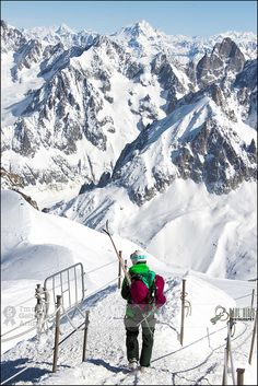 Let's Have Some Fun | Vallee Blanche Ski Area, Chamonix - France Impressionnant ...