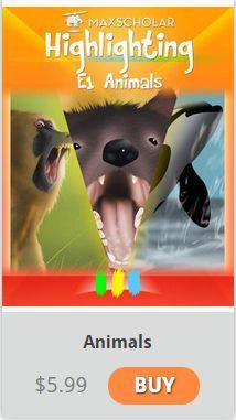 #MaxScholar #ebook Animals