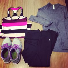run outfit need to update my gym gear for fall / winter runs. Lululemon Lululemon Outfits Fall Gear GYM lululemon outfit Run runs update winter Athletic Outfits, Athletic Wear, Sport Outfits, Cute Outfits, Sport Fashion, Cute Fashion, Fitness Fashion, Fitness Gear, Fitness Outfits