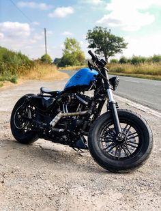 Hd Sportster, Sportster Motorcycle, Bobber Bikes, Bobber Chopper, Custom Bobber, Custom Harleys, Custom Motorcycles, Custom Trikes, Ghost Rider