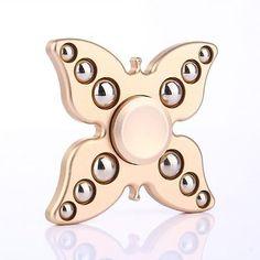 Butterfly-Hand-Spinner-Stainless-Steel-Ball-Fidget-Spinner-Anti-stress-Aluminum
