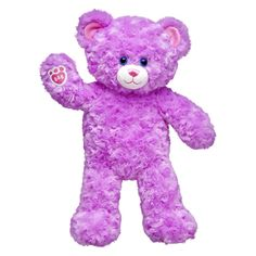 Lavender Cuddles Teddy | Build-A-Bear