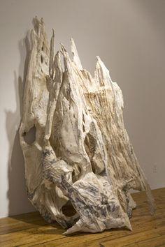 Eve Ingalls, United States, Losing the Name, 2008, abaca, kozo, flax (ručný papier)