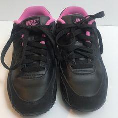 Air Max 90, Nike Air Max, Pink Nikes, All Black Sneakers, Baby Shoes, Fashion, Moda, La Mode, Fasion