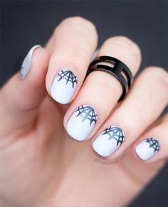 12-Halloween-Spider-Web-Nail-Art-Designs-Ideas-2016-7.jpg (450×555)