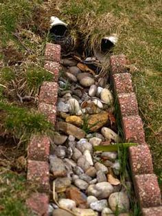 How I Solved Drainage Problems In My Yard Pt 3