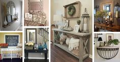 Whatever your personal taste may be, these editorial-worthy entry table ideas for 2018 were made with every style of home in mind. Find the best designs!