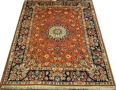 alfombras 200 x 250 | Alfombras barcelona   Alfombra Yazd Irán 250 x 196 cm Lana Ref: J – 149