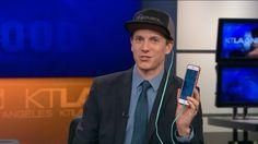 solsol solar powered smartphone charging hat