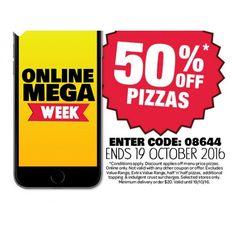 50% OFF Pizzas @ Domino`s Pizza - Bargain Bro