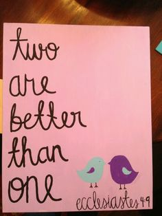 Canvas painting for Sarah!