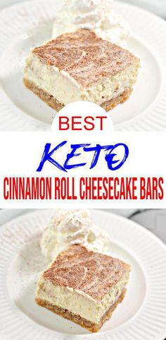 Keto Cake, Keto Cheesecake, Cinnamon Roll Cheesecake, Easy Cheesecake Recipes, Simple Cheesecake, Low Carb Sweets, Low Carb Desserts, Healthy Dessert Recipes, Low Carb Recipes