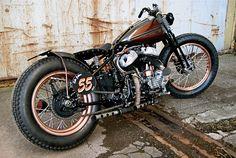 Harley WLC Custom - WWII Canadian Military Bike