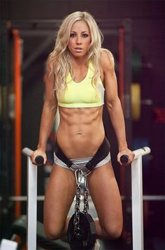 Top Fitness Model and NIFMA Champion Jill McConkey. #female_athlete #fitnessinspiration