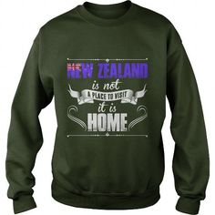 I Love new zealand is not a place to visit it is home tshirt T-Shirts