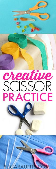Creative & Fun Ways to Help Kids Cut With Scissors