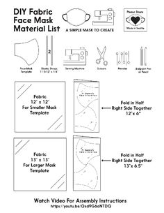 Diy Face Mask, Face Masks, How To Stay Healthy, Tatting, Sewing, Fabric, Chinese, Wisdom, Pdf