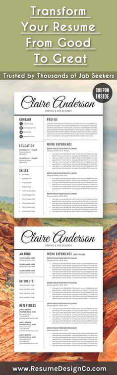 Transform your resume from good to great Trusted by thousands of - resume for job