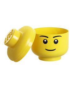 Look at this #zulilyfind! LEGO Storage Head by LEGO #zulilyfinds