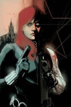 Black Widow / Winter Soldier