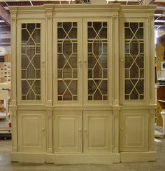 PaintedFurnitureBarn.com - Scarborough Fretwork Cabinet, $4,699.00 includes shipping (http://www.paintedfurniturebarn.com/scarborough-fretwork-cabinet/)