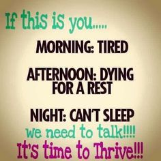 Thrive can help you Life situations change for the best. Nows the time to take control