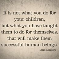 """Omg yes!  Too many people I know are working two-three jobs so their kids will """"have all the things we didn't"""".  But too many don't realize, it's the struggles that bring us wisdom, strength and the confidence that we can accomplish things."""