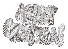 Zentangle made by Mariska den Boer 83