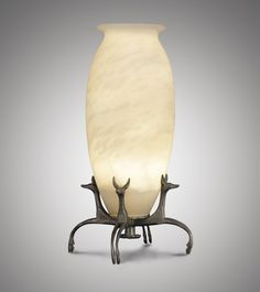 Armand Albert Rateau (1882-1938)An Important 'Fennecs' Table Lamp, circa 1919-1920An Important Collection of Art Deco Masterpieces