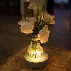#leddecor #ledlighting #ledlights #tabledecorideas #tabledecor #weddingdecor #tablelightideas Led Centerpieces, Floral Arrangements, Glow, Vase, Projects, Home Decor, Log Projects, Blue Prints, Decoration Home