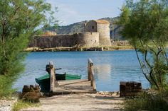 Albania photo: Butrint (Butrinti) ancient city, archeology ruins World Heritage site around Saranda.