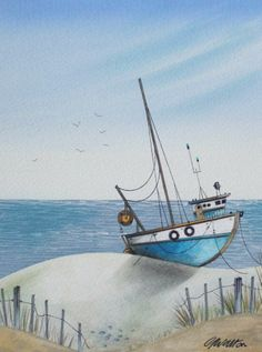 Gary Walton Watercolor (Love this one!)