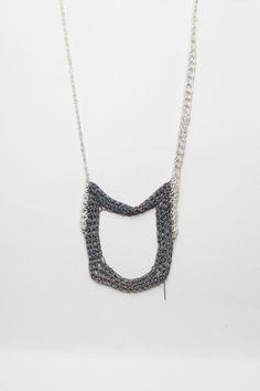Totokaelo - Arielle de Pinto - Square Necklace - Spectrum/Silver